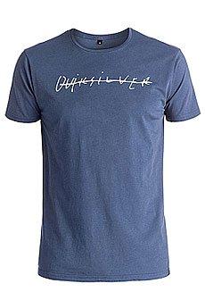 Футболка Quiksilver Garmdyeteloqui Nightshadow Blue