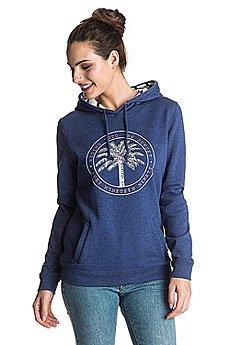 Толстовка кенгуру женская Roxy Cozyridesunset Blue Print