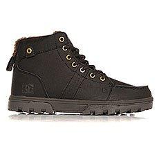 Ботинки высокие DC Woodland Black Camo