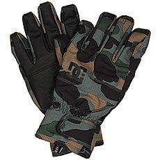 Перчатки сноубордические DC Seger Glove Camouflage Lodge