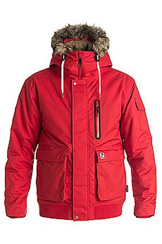 Куртка зимняя Quiksilver Arris Racing Red