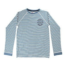 Лонгслив детский Quiksilver Fineatstripeyth Captains Blue