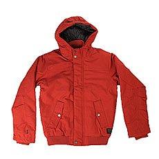 Куртка зимняя детская Quiksilver Brooksdwryouth Barn Red
