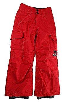 Штаны сноубордические детские DC Banshee Racing Red
