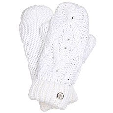 Варежки женские Roxy Shootstarmitten Bright White