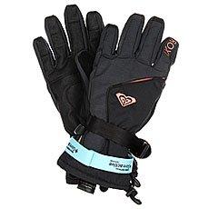 Перчатки сноубордические женские Roxy Crystal Gloves True Black