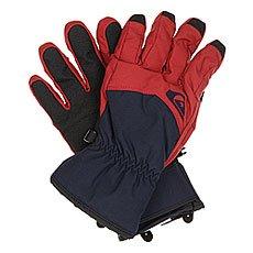 Перчатки сноубордические Quiksilver Cross Glove Pomegranate