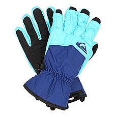 Перчатки сноубордические Quiksilver Cross Glove Bluefish