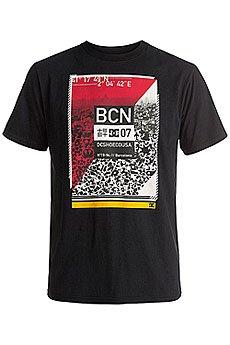 Футболка DC Pass To Barca Black