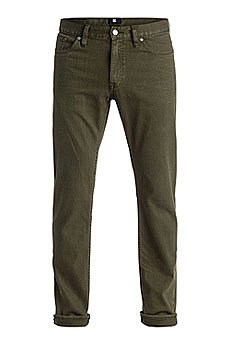 Штаны прямые DC Straight Colour Dark Olive