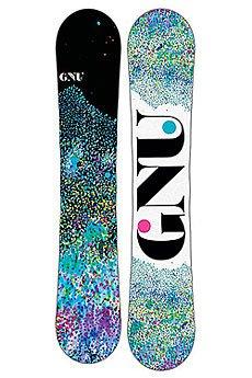 Сноуборд GNU 16 B-nice Dots 142 Btx