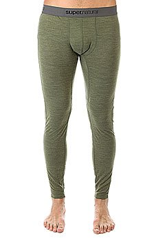 Термобелье (низ) Super Natural Base Tight 175 Leaf Melange