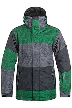 Куртка Quiksilver Mission Print Stripe Jolly Green