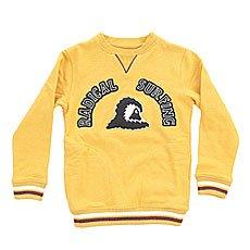 Толстовка свитшот детская Quiksilver Radsurfcyth Golden Glow
