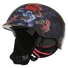 Шлем для сноуборда женский Roxy Power Powder Hawaiian Tropik Para