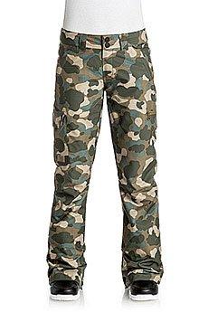 Штаны сноубордические женские DC Recruit Pnt Camouflage Lodge Wom