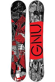 Сноуборд GNU Crbn Crdt Btx Red Ast