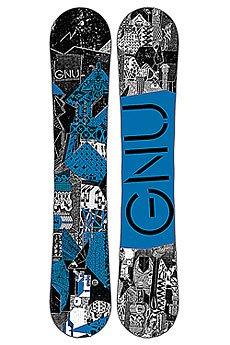 Сноуборд GNU Crbn Crdt Btx Blue Ast