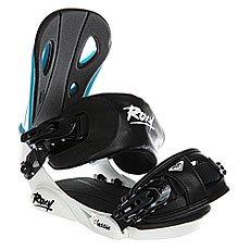 Крепления для сноуборда женские Roxy Classic Bind White/Black