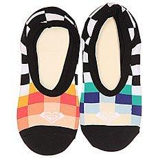 Носки низкие женские Roxy 2pk Junior Liner Black/White
