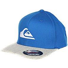 Бейсболка с прямым козырьком Quiksilver Mountain And Wave Imperial Blue