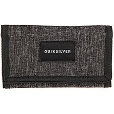 Кошелек Quiksilver Barter Charcoal Heather