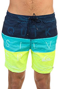 Шорты пляжные Quiksilver Wordwavevol17 Viridian Green