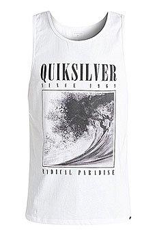 Майка Quiksilver Bothsidestk White
