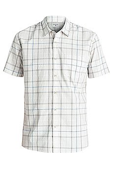 Рубашка в клетку Quiksilver Everydaycheckss Snow White Check
