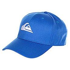 Бейсболка классическая Quiksilver Decades Imperial Blue