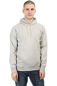 Толстовка кенгуру Quiksilver Everyday Hood Light Grey Heather