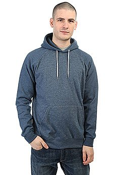 Толстовка кенгуру Quiksilver Everyday Hood Dark Denim Heather