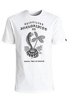Футболка Quiksilver Offtheblock White