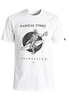 Футболка Quiksilver Spacecowboy White