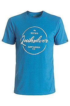 Футболка Quiksilver Silvered Vallarta Blue