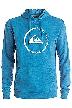Толстовка кенгуру Quiksilver Big Logo Hood Vallarta Blue