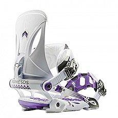 Крепления для сноуборда Rome Madison Boss White/Purple