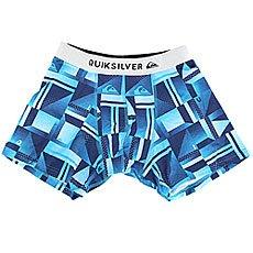 Трусы Quiksilver Boxer Poster Blue Miror