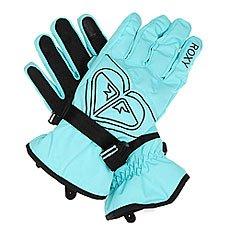 Перчатки сноубордические женские Roxy Popi Gloves Real Blue Radiance