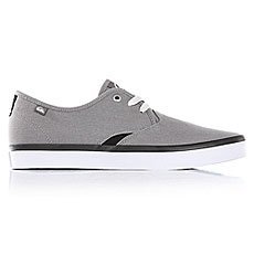 Кеды низкие Quiksilver Shorebreak Grey/Black/White