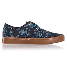 Кеды низкие Quiksilver Shorebreak Delu Blue/White