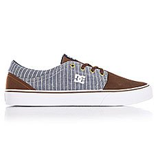 Кеды низкие DC Trase Se Brown/Blue