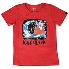 Футболка детская Quiksilver Sscltebomagicvo Cardinal