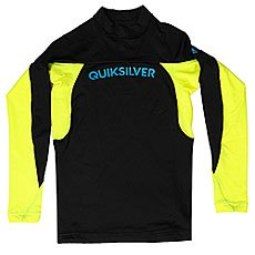Гидрофутболка детская Quiksilver Performerboyls Black/Safety Yellow