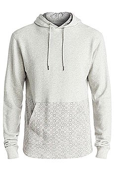 Толстовка кенгуру Quiksilver Cyclopshood Light Grey Heather