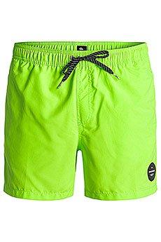 Шорты пляжные Quiksilver Everysolidvol15 Green Gecko