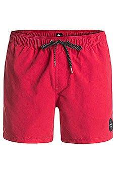 Шорты пляжные Quiksilver Everysolidvol15 Quik Red