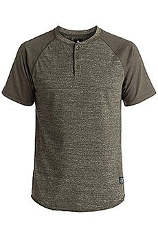 Футболка DC Enderlin Henley Dark Olive Heather