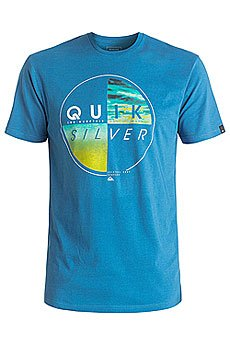 Футболка Quiksilver Blazed Vallarta Blue