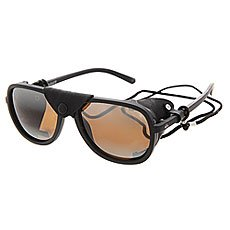Очки Quiksilver Summit Matte Black/Brown Gr
